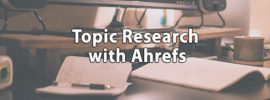 topic-research